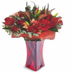 זר באהבה - פרחי לב הגליל - טבריה