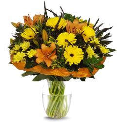 זר נץ הזריחה - פרחי לב הגליל - טבריה