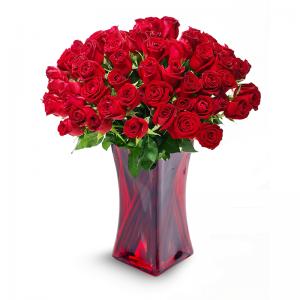 זר אהבה לוהטת - פרחי לב הגליל - טבריה