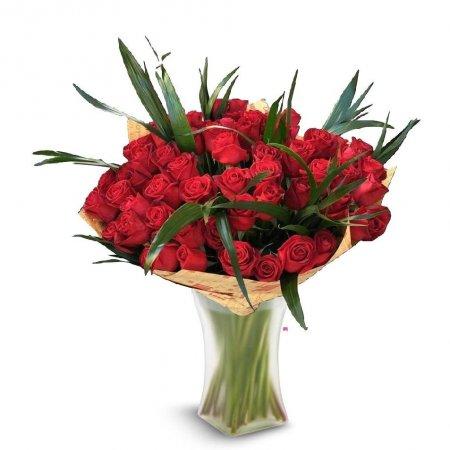 זר ורדים רומנטי - פרחי דליה בירושלים - ירושלים