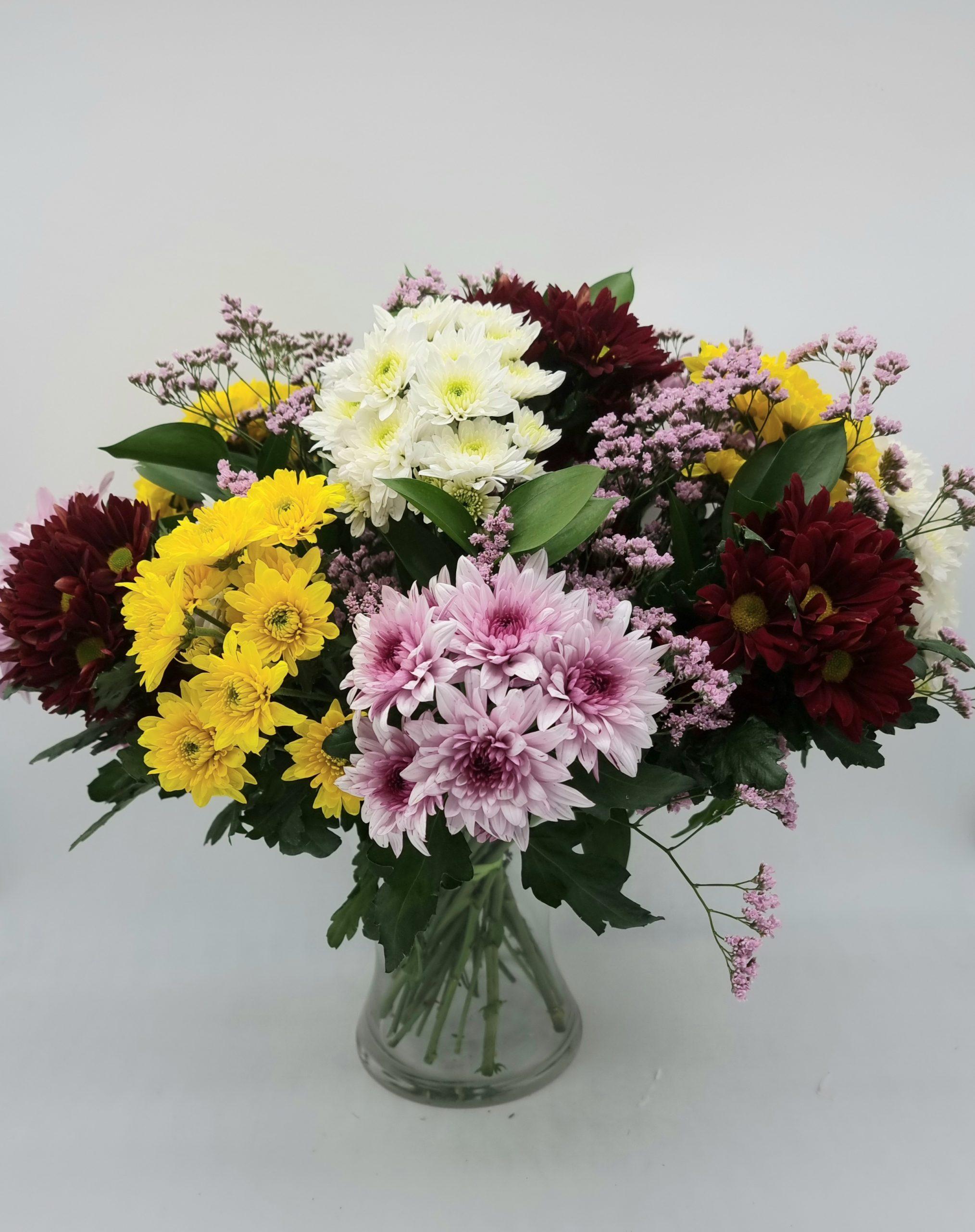 זר חרציות - תלתן פרחים - צפת