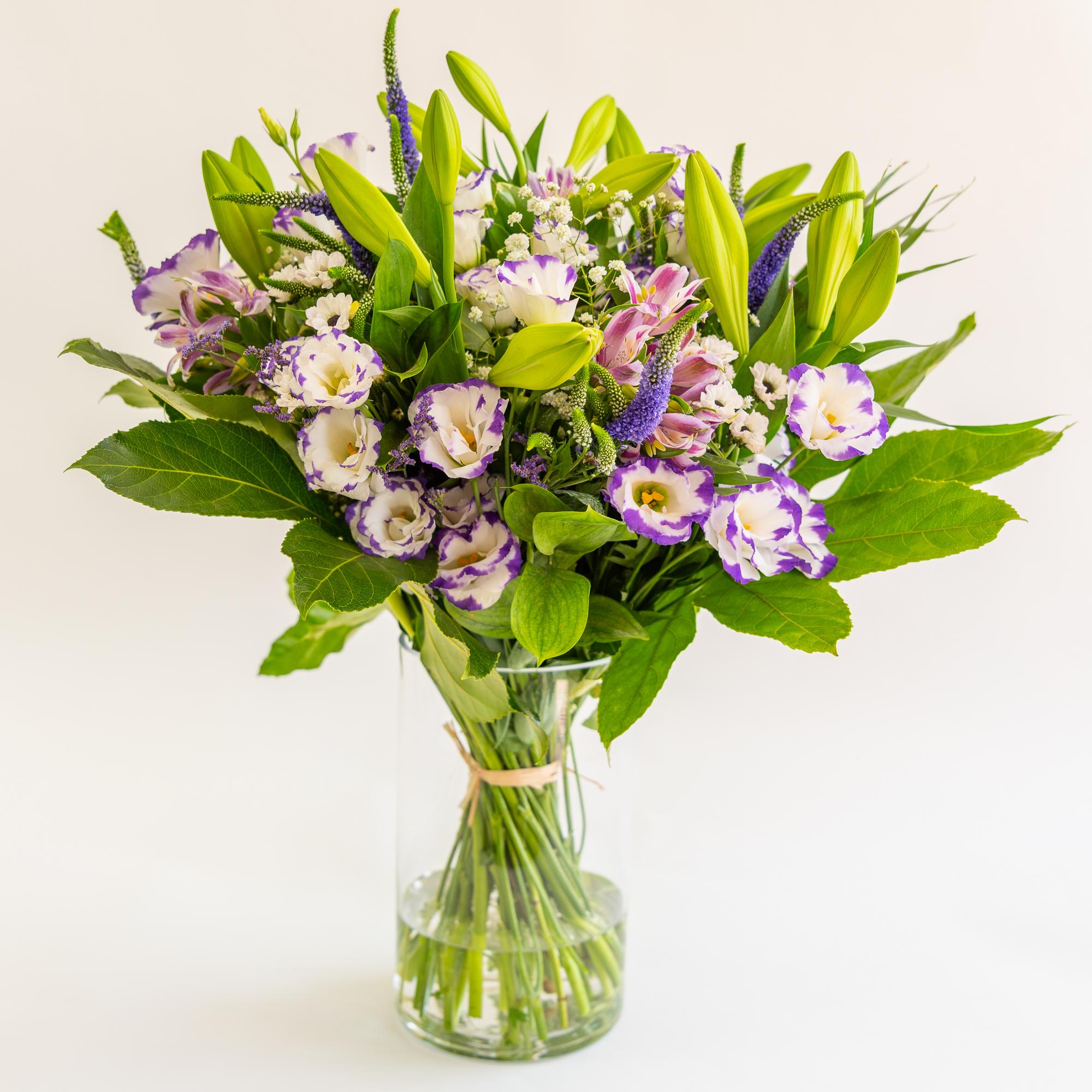 זר פרחים 2 - ויקטוריה - לוד