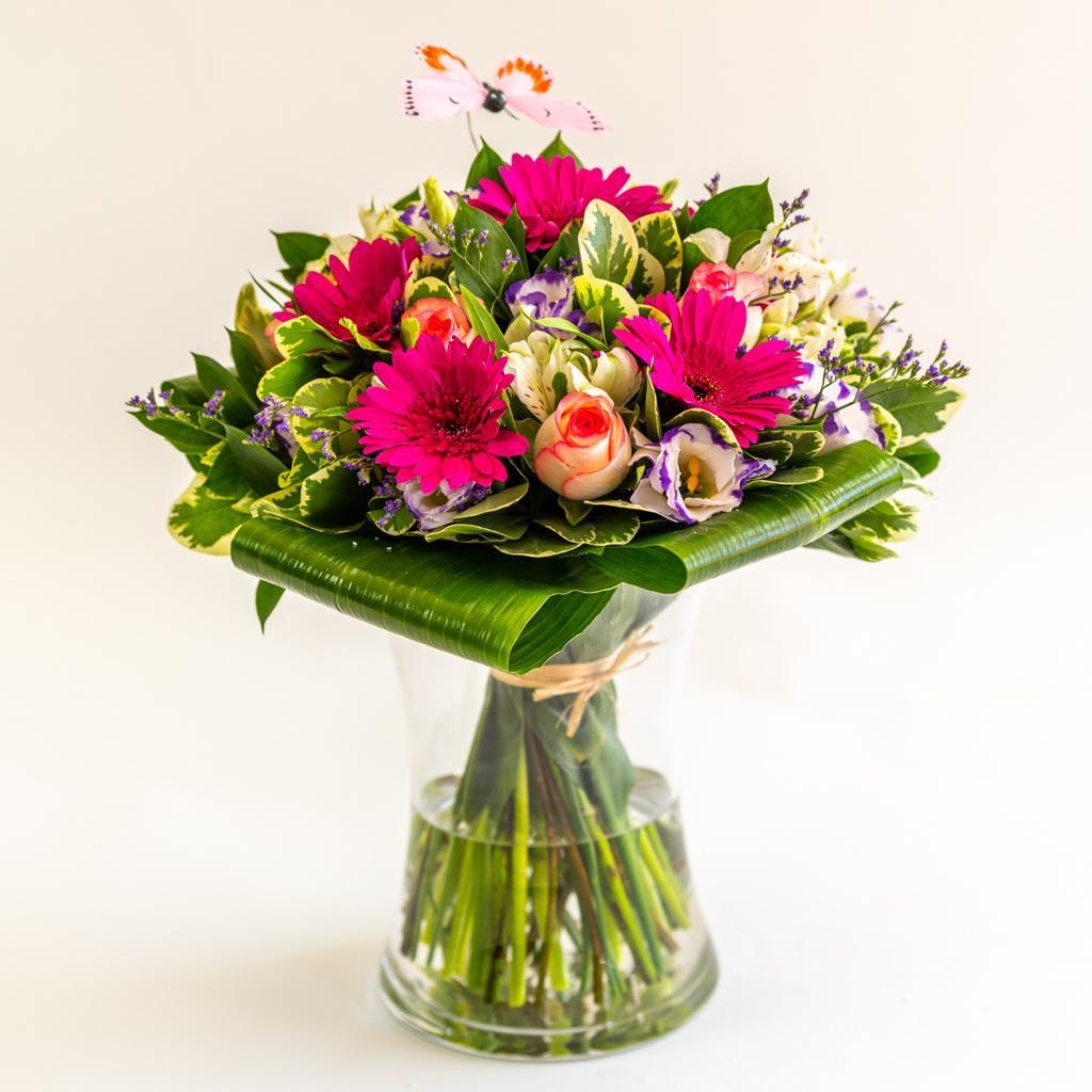 זר פרחים 5 - ויקטוריה - לוד