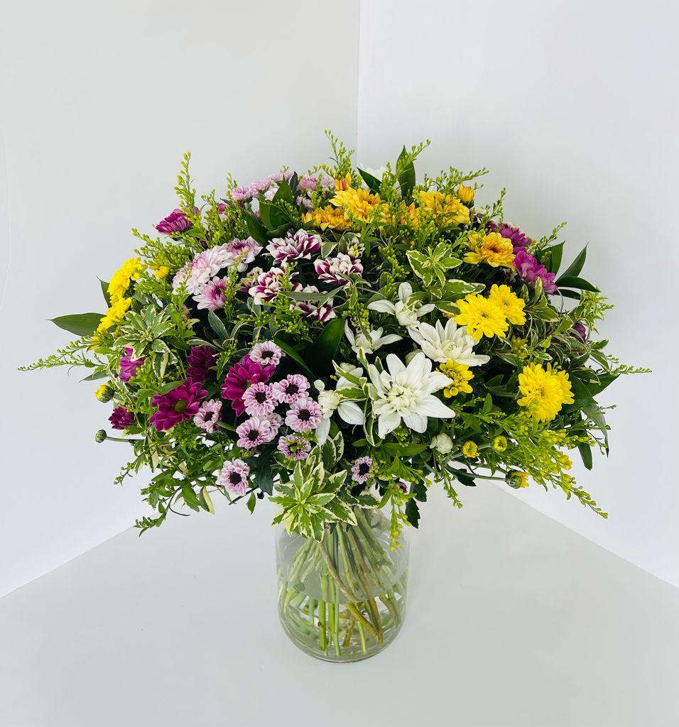 זר פרחים 14  - ויקטוריה - לוד